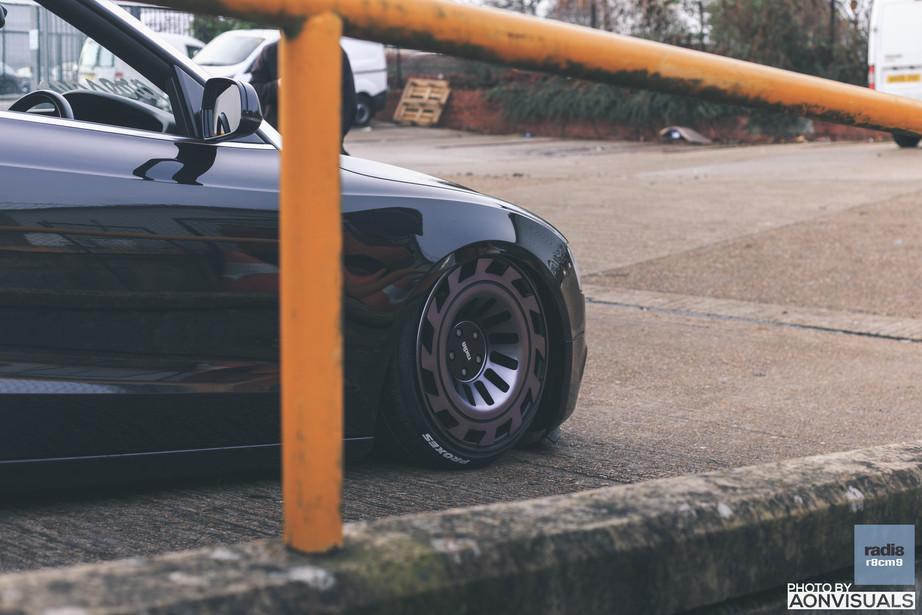 Calvin's Bagged 2012 Audi A5.