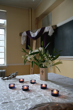 retreat purple candles and thorns.JPG