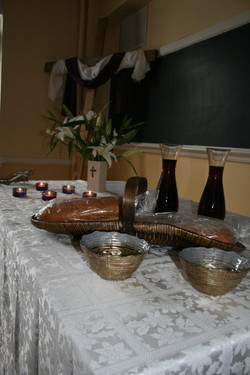 retreat communion table.JPG