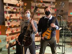 Worship Leader, Britt and Bassist, Zach