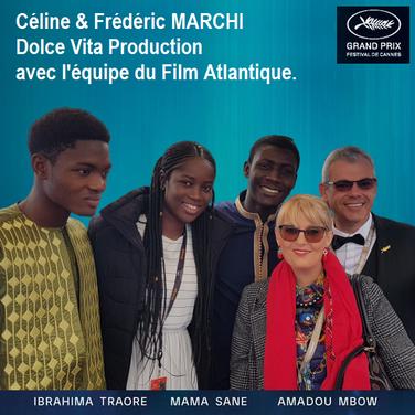 Equipe du Film Atlantique de Mati DIOP.