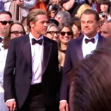 Leonardo DICAPRIO & Brad PITT