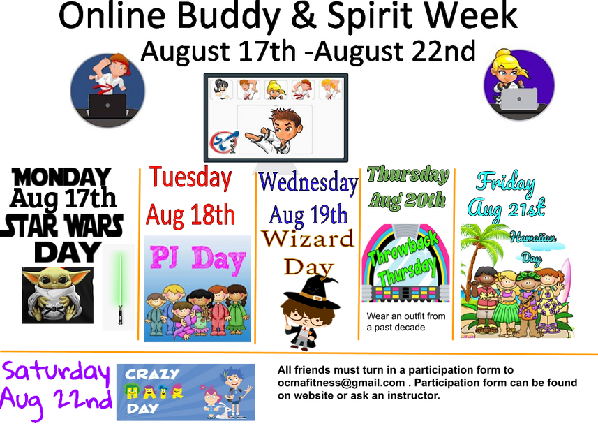 Online Buddy_Spirit week Aug 2020.png