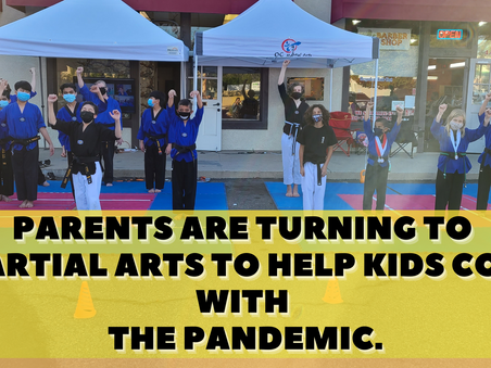 Kids Overcoming Mental Health Obstacles with the help of Martial Arts