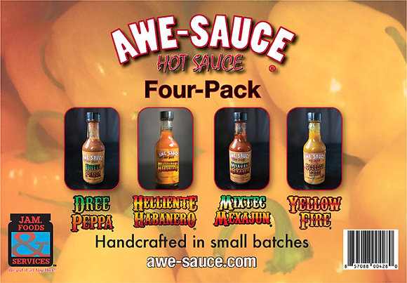 AWE-SAUCE Four Pack Special