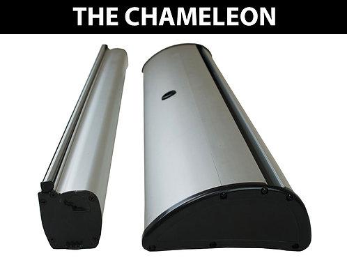 """""""The Chameleon"""" Roller Banner"""