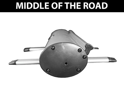 """""""Middle of the Road"""" Roller Banner"""