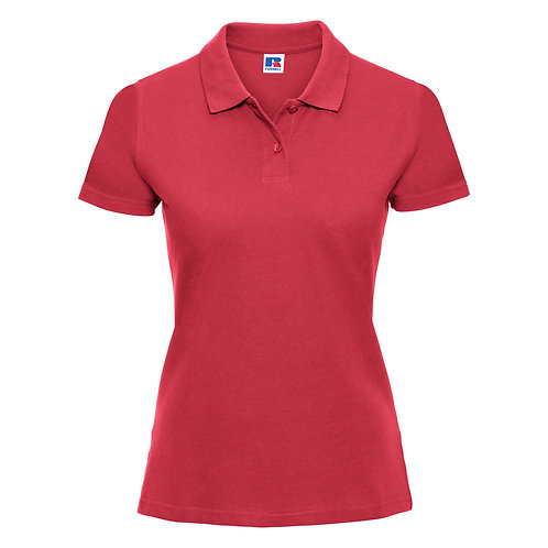 Russell Ladies Classic Cotton Piqué Polo Shirt