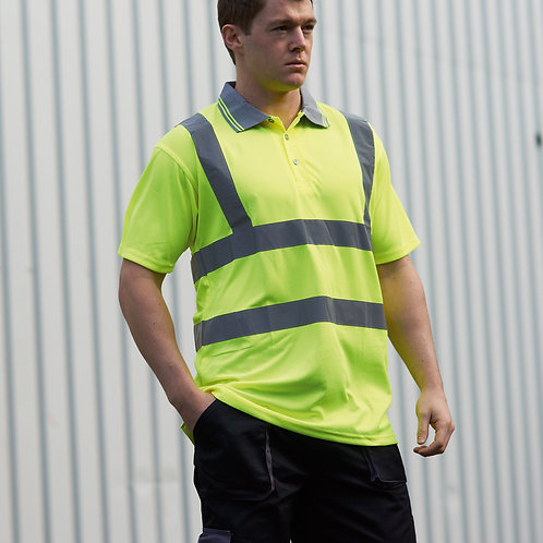 Portwest High Viz Polo