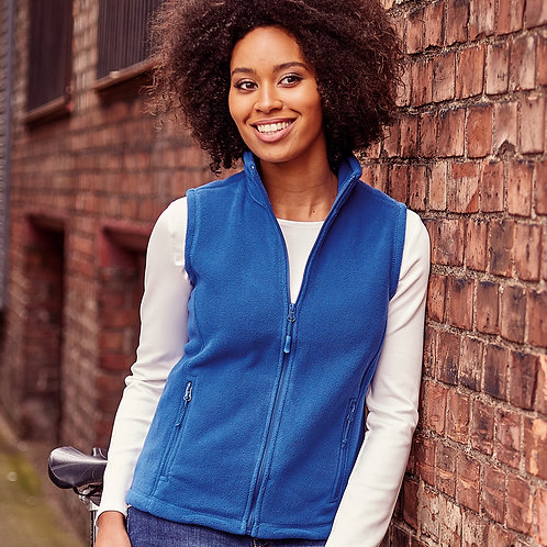 Ladies Fleece Gilet