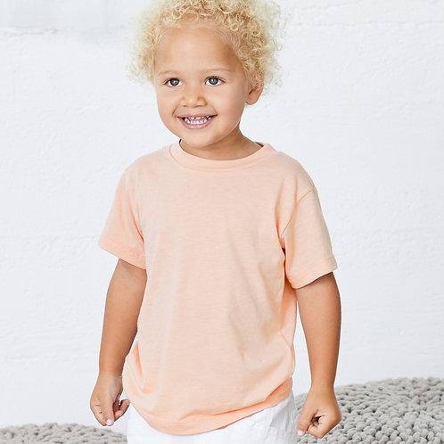 Personalised Tri-Blend Toddler T-Shirt