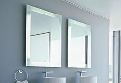 Espejos biselados y flotados