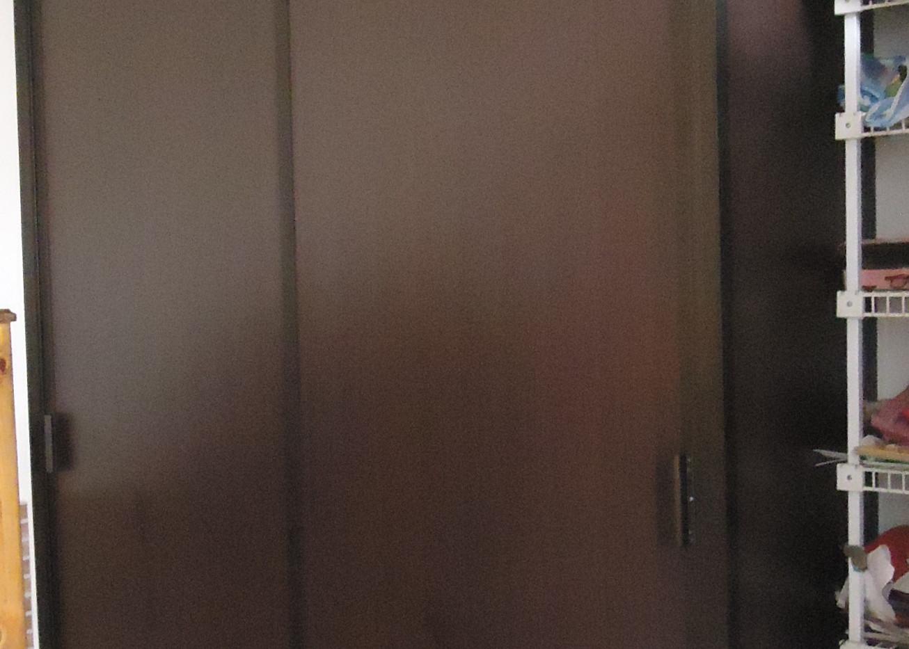puerta mdf y aluminio