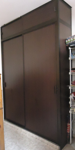 Closet mdf y aluminio