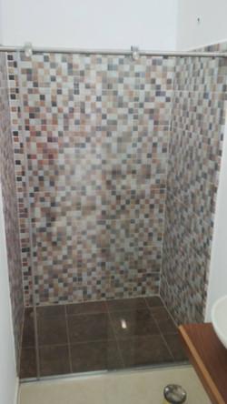 División de baño sistema Glassvit