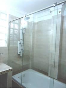 División de baño Glassvit para tina