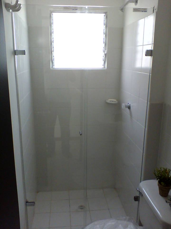 Division de baño batiente