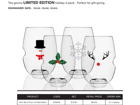 Item of the Week: Featuring Govino Holiday Collection