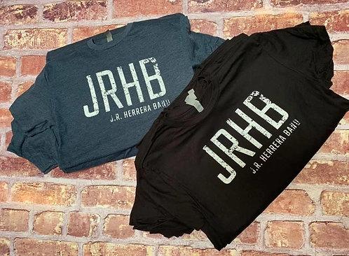 BLACK- JRHB Tee (Unisex) + FREE JRHB Koozie