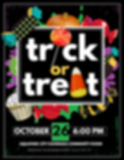 Copy of trick or treat - Made with Poste