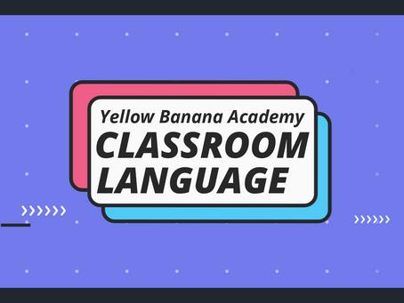 Classroom Language #3
