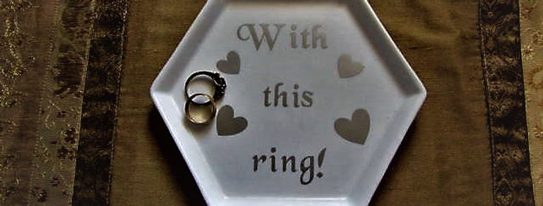 WITH THIS RING HOLDER