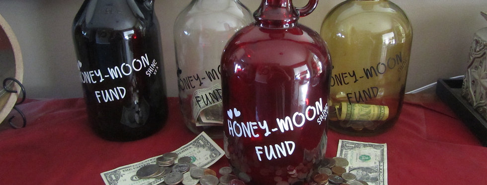 HONEYMOON SHINE FUND GROWLER JUG