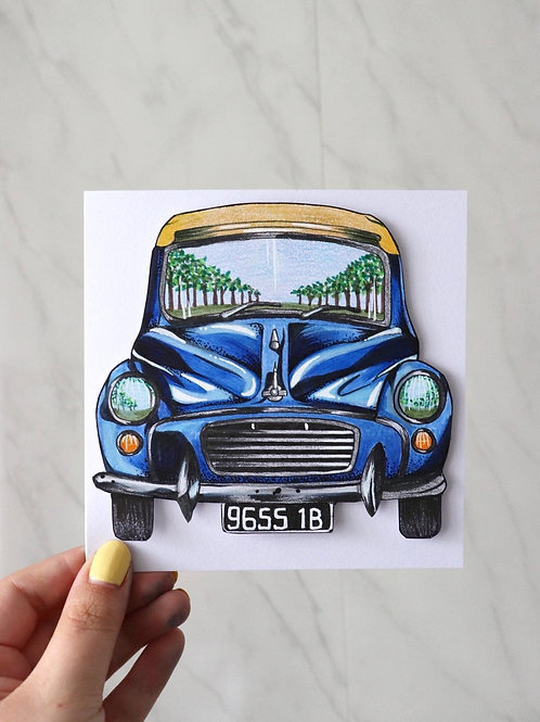 Hand Drawn Personalised Cards
