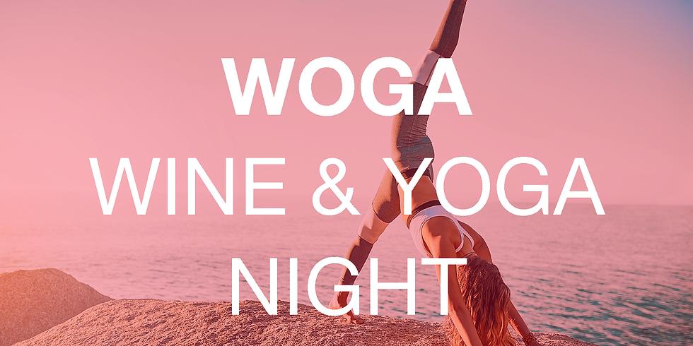 WOGA - WINE & YOGA Online Community Event