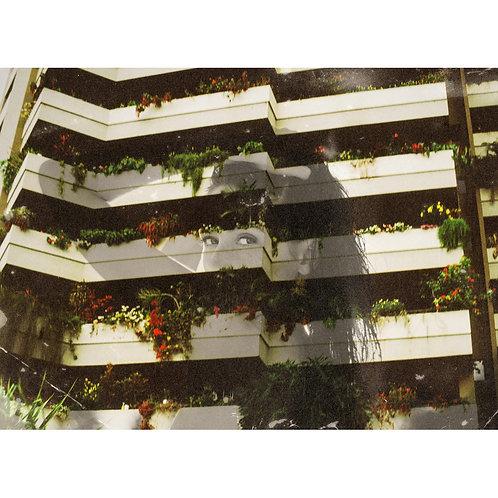 """Balcony Girl"" Print"