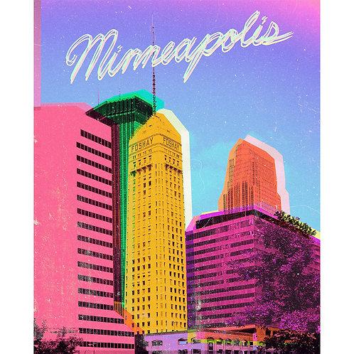 """""""Minneapolis"""" Print"""