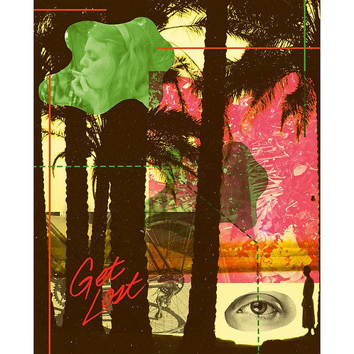 """""""Get Lost"""" II Print"""
