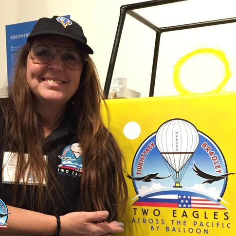 Letitia Hill, Two Eagles Balloon Installation