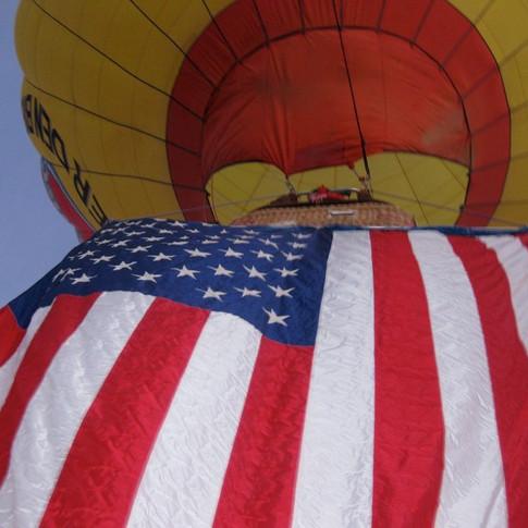 Letitia Hill, Albuquerque International Balloon Fiesta