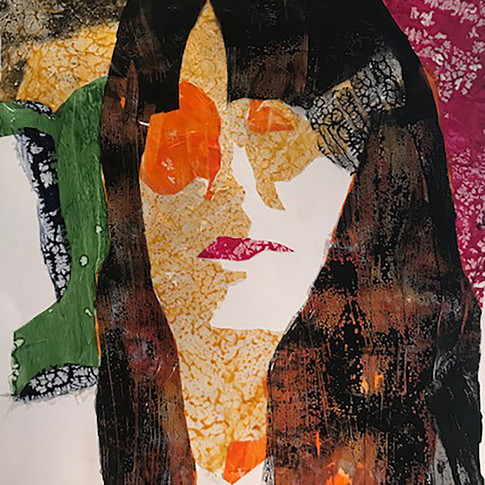Letitia Hill, Skins Series, Face #1