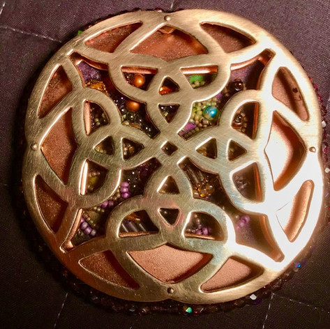 Letitia Hill, Celtic Pendant