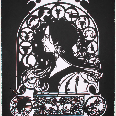 Letitia Hill, Self Portrait