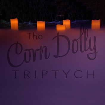 Letitia Hill, The Corn Dolly Triptych 2021