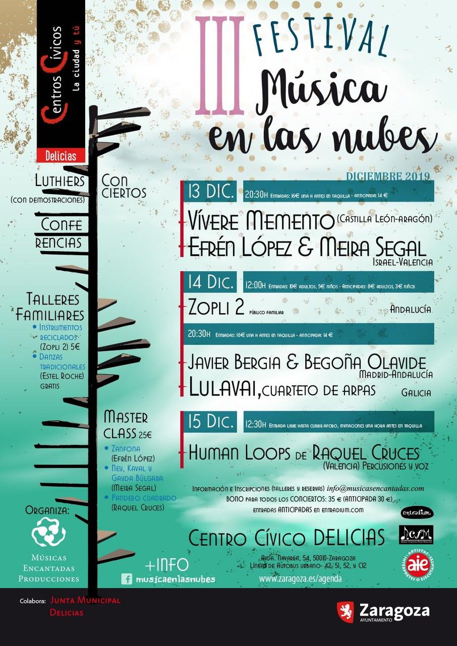 III Festival MÚSICA EN LAS NUBES (Zaragoza)