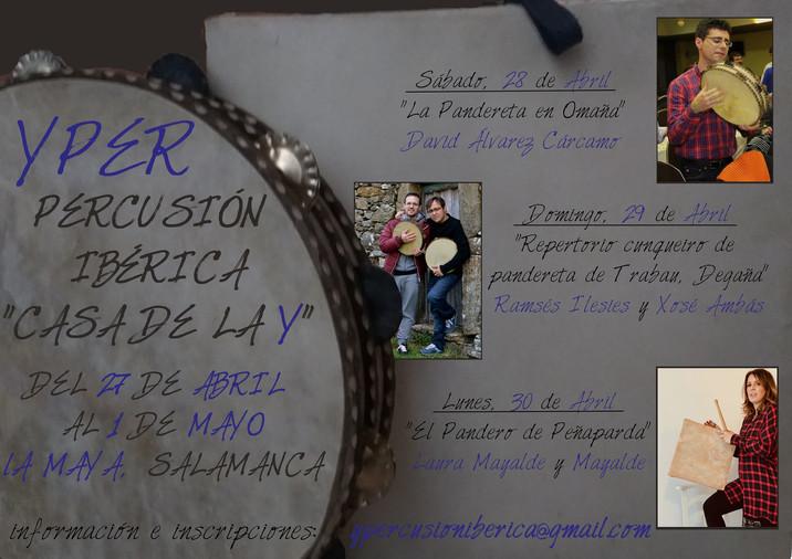 Cursos de Percusión Ibérica en La Maya (Salamanca)