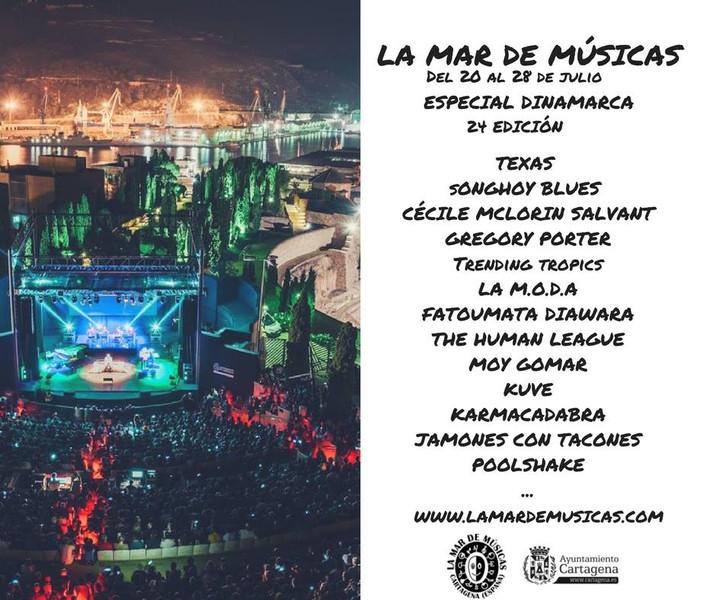 Primeras confirmaciones de La Mar de Músicas 2018