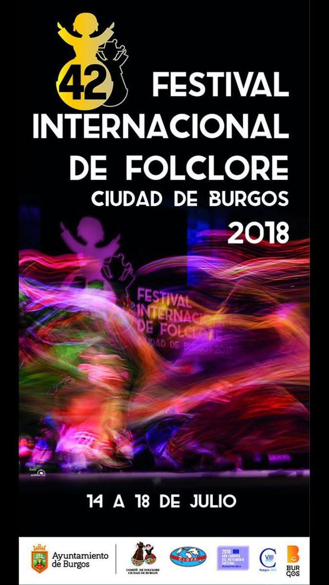"""Festival Internacional de Folclore """"Ciudad de Burgos"""" 2018"""