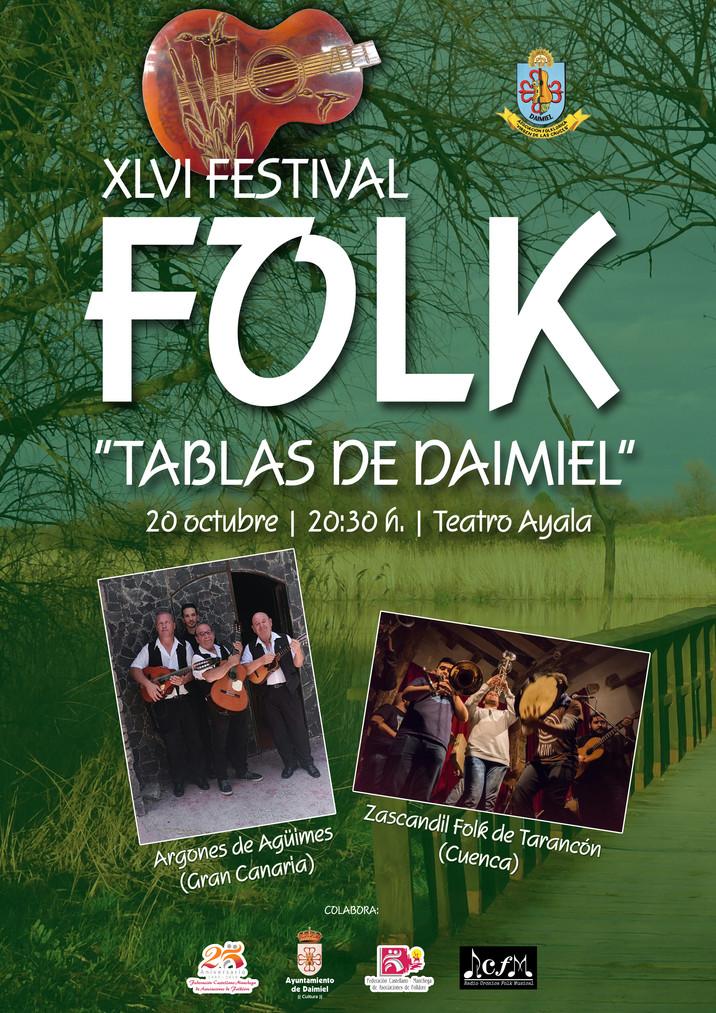"""XLVI Festival Folk """"Tablas de Daimiel"""" (Ciudad Real)"""