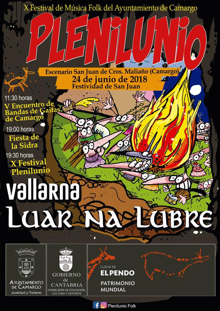 X Festival PLENILUNIO (Camargo, Cantabria) 2018