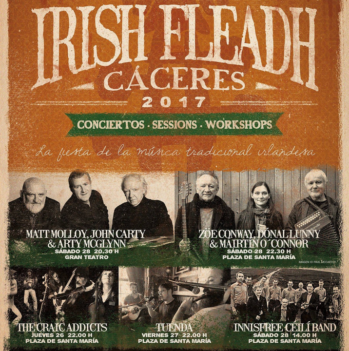 Cáceres Irish Fleadh 2017