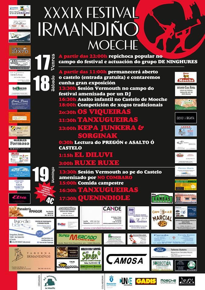 XXXIX Festival Irmandiño 2018 (Moeche, Galicia)