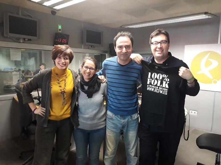 Entrevista a RCFM en Canal Extremadura Radio