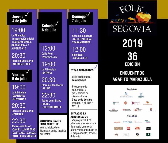 FOLK SEGOVIA 2019