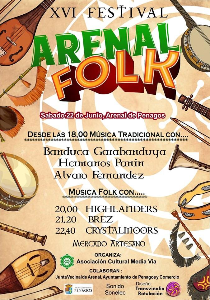XVI Festival Arenal Folk (Cantabria)