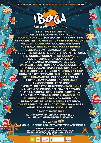 IBOGA SUMMER FESTIVAL PRESENTA SU EDICIÓN MÁS INTERNACIONAL EN ESTE 2018